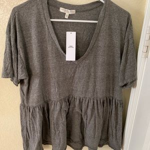 Urban outfitters baby doll tee